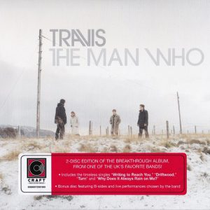 Obálka Travis - CD THE MAN WHO
